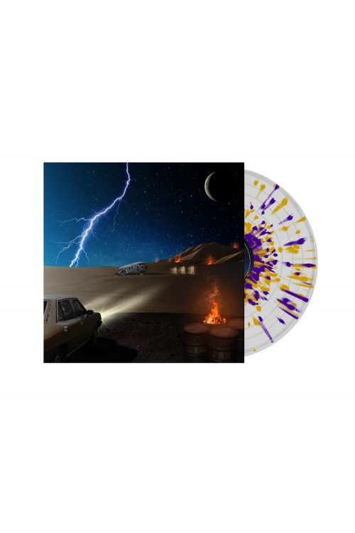 DZ Deathrays - Positive Rising: Part 2 Clear/ Purple/ Orange Splatter Vinyl by I Oh You