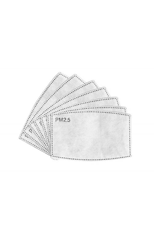 PM2.5 activated carbon face mask filter (Pack of 7) by Mask filters