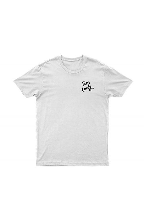 Album White Tshirt by Tom Cardy