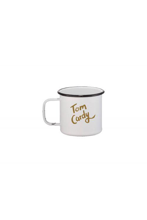 I'm Definitely Not A Cop Enamel Mug by Tom Cardy