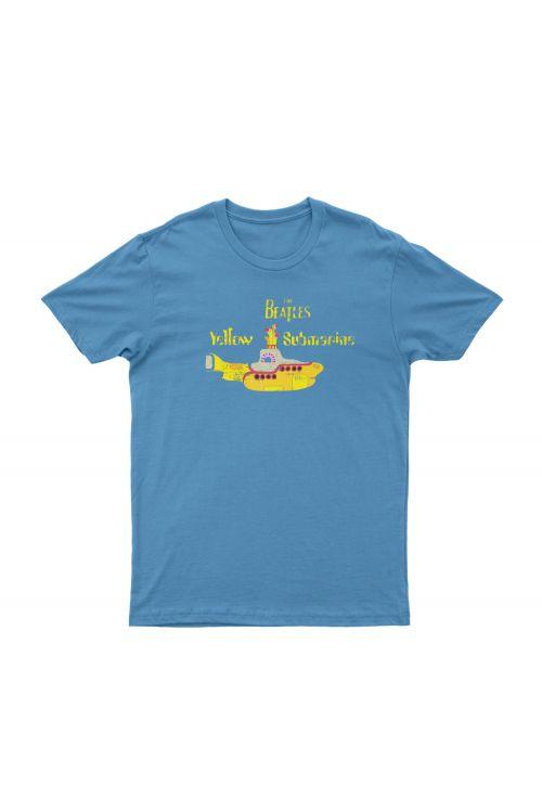 Yellow Submarine Light Blue Tshirt by The Beatles