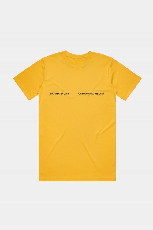 J'ADORE HARDCORE TEE (HONEY) by Soothsayer