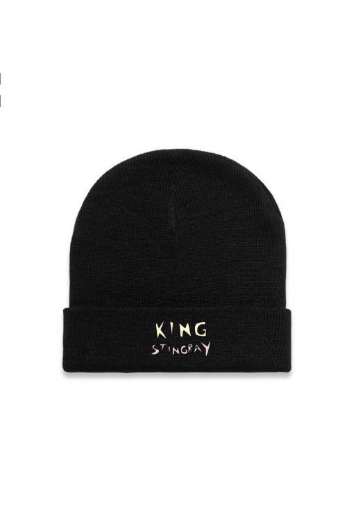 Black beanie – Duo Logo by King Stingray