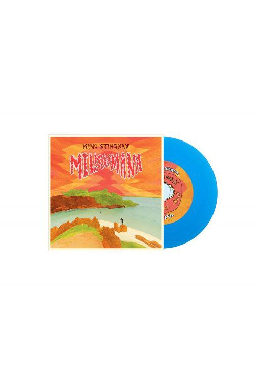 """Milkumana 7"""" Blue Vinyl by King Stingray"""