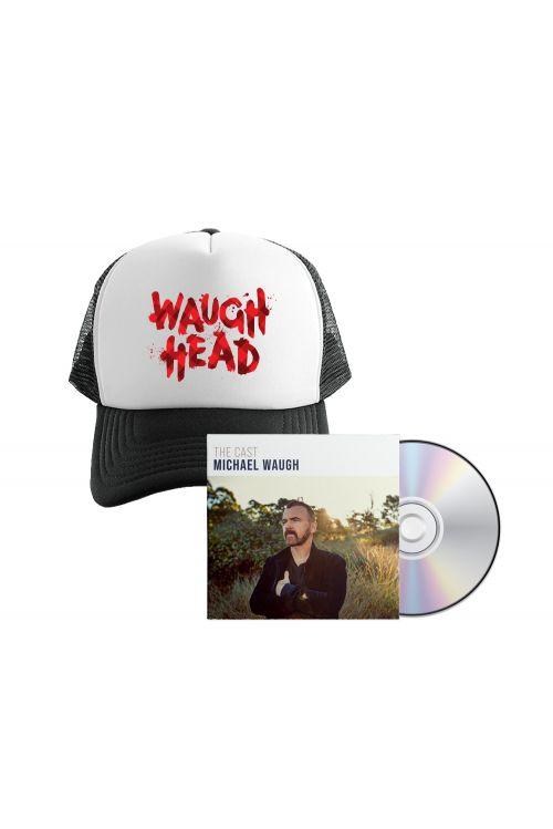 Bundle 2 - The Cast CD , Waugh Head Cap by Michael Waugh