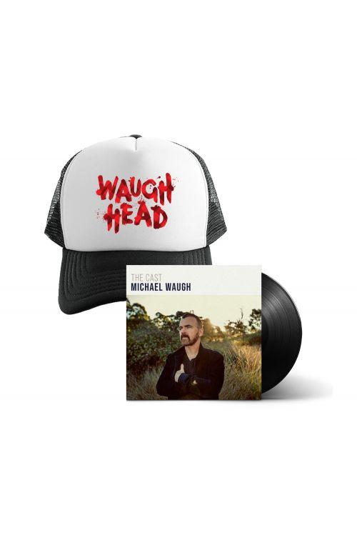 Bundle 5 - The Cast (LP) Vinyl And Waugh Head Cap by Michael Waugh