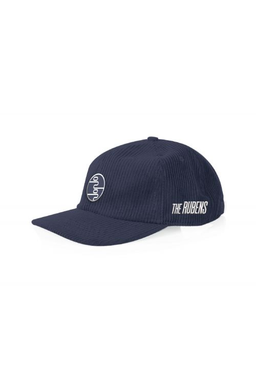 Blue cord cap – 0202 patch by The Rubens
