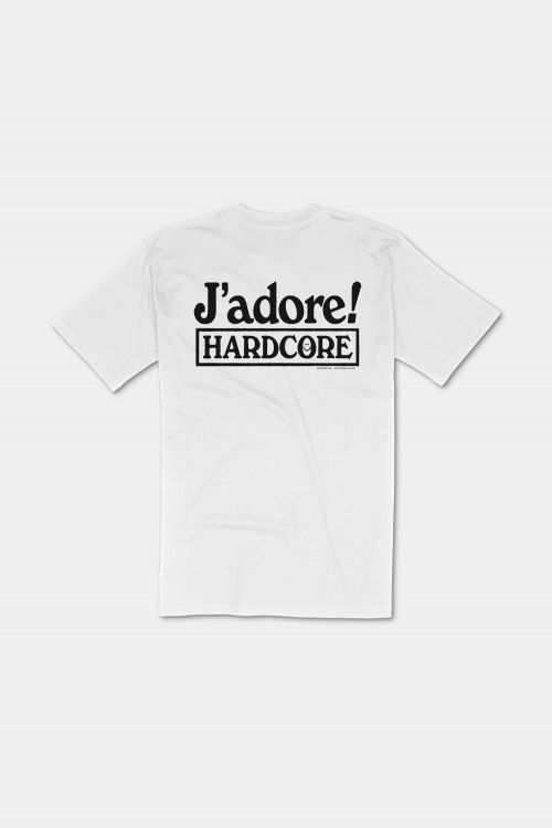 J'ADORE HARDCORE TEE (OG FLIP) by Soothsayer