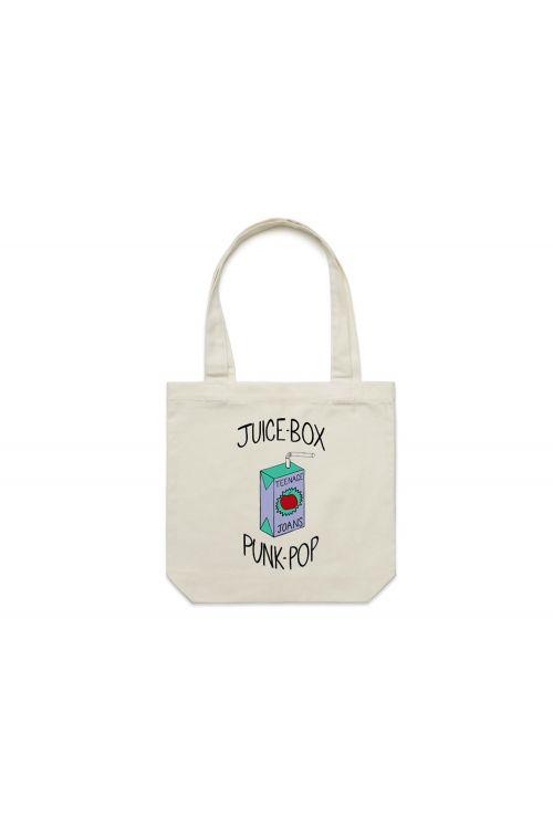Juice Box Tote Bag by Teenage Joans