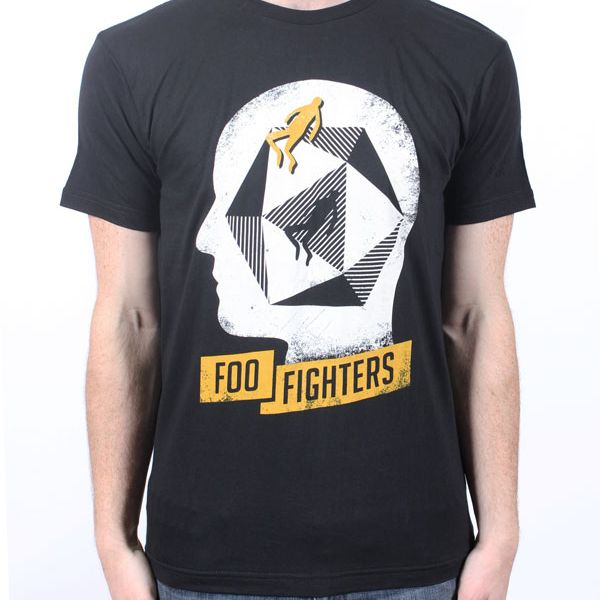 Head Black Tshirt Australian exclusive