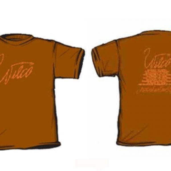 Girls Brown Wire Tshirt