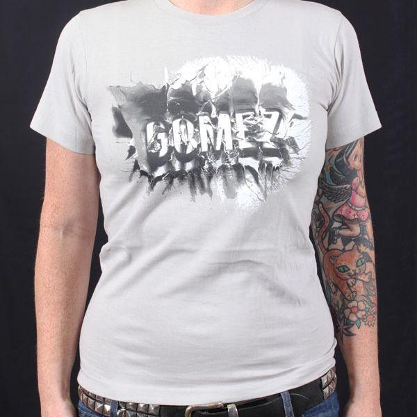Grey Splash Tshirt Australian Tour 2011
