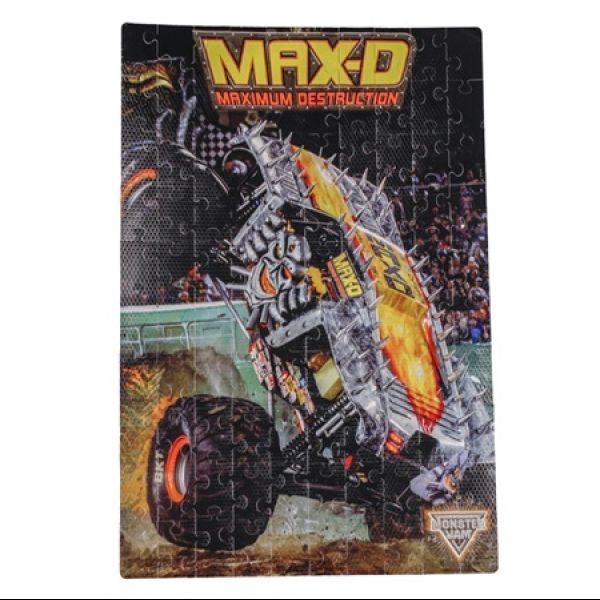 Monster Jam Max-D Foam Puzzle