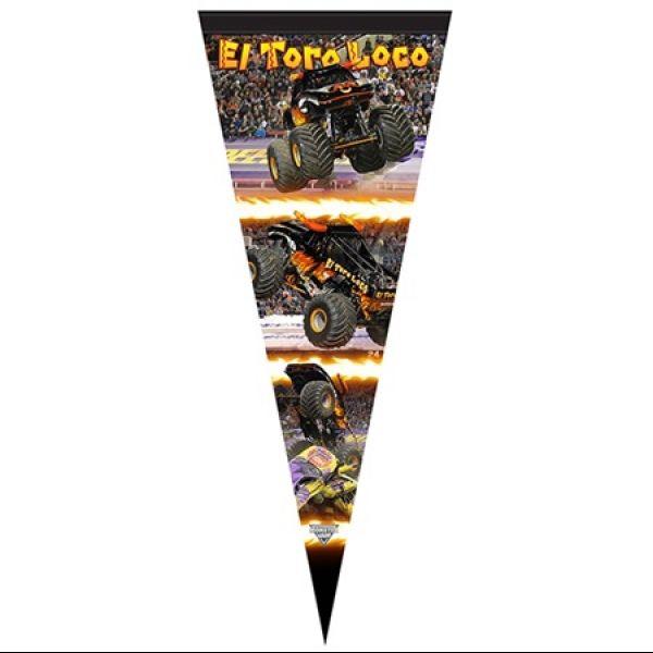 El Toro Loco Black Flag