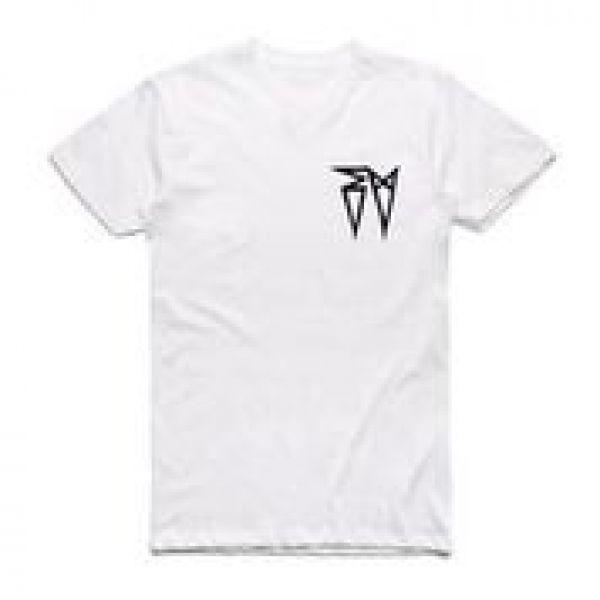 Classic EV Logo White Tshirt