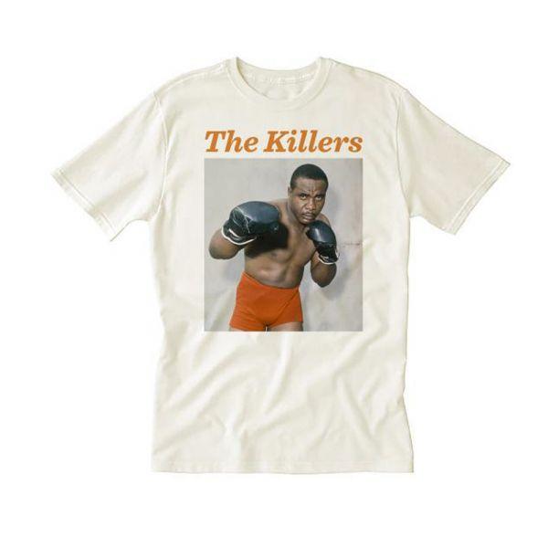 Liston Orange Shorts White Tshirt