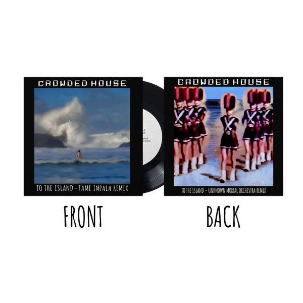 """To The Island - Remixes 7"""" vinyl"""