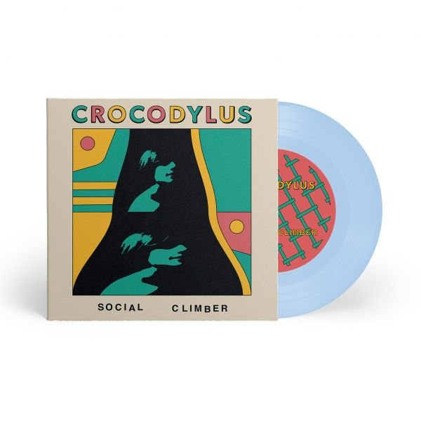 """Social Climber / Camouflage 7"""" Baby Blue"""