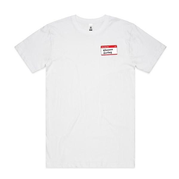 Azeeeee White Mens Tshirt