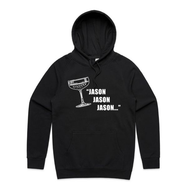 Jason, Jason, Jason Unisex Black Hoody