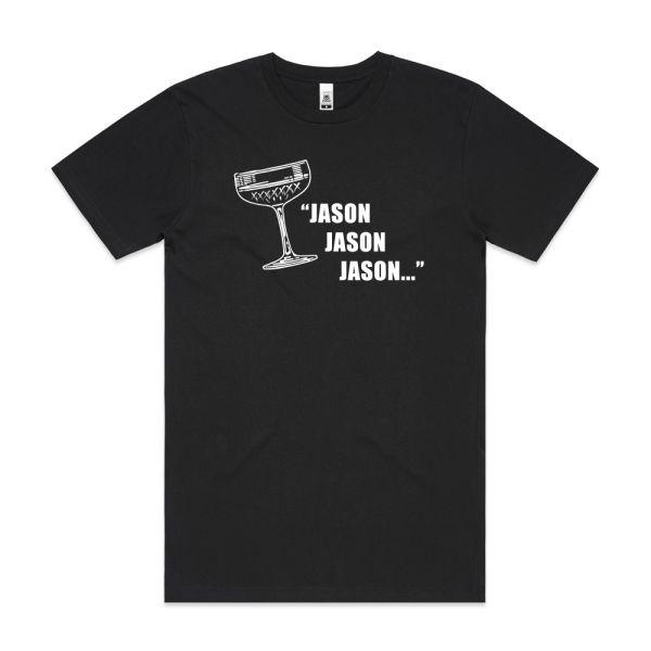 Jason, Jason, Jason Mens Black Tshirt