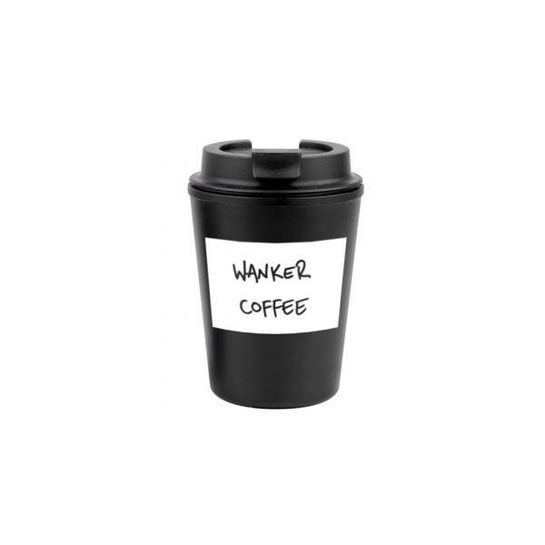 Wanker Coffee Reusable Cup