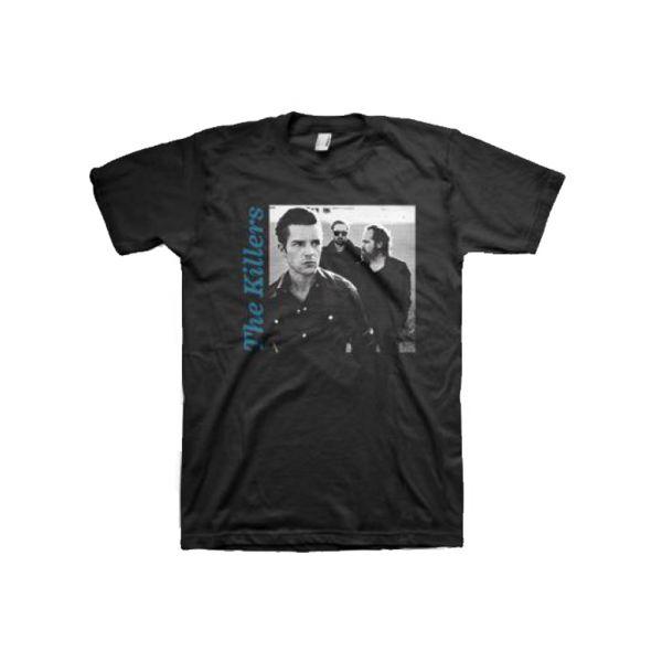 Side Photo Black Tshirt w/dateback