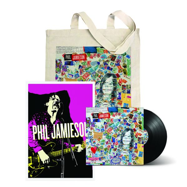 """Kapow! /Rubberband 7"""" Vinyl ,Tote and Poster"""