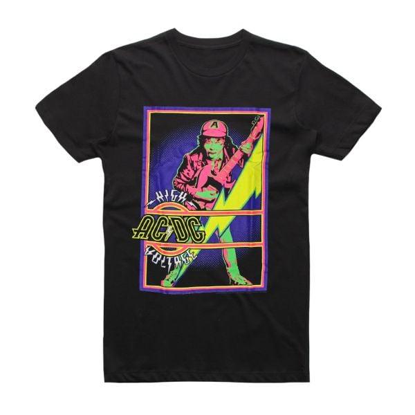High Voltage Blacklight Tshirt