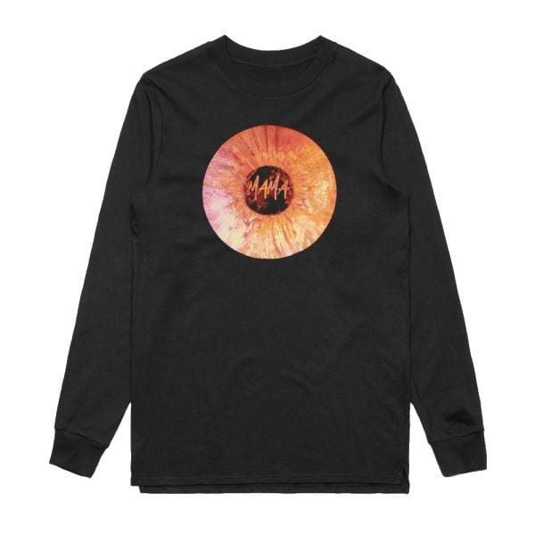 Mama Record Black Longsleeve Tshirt