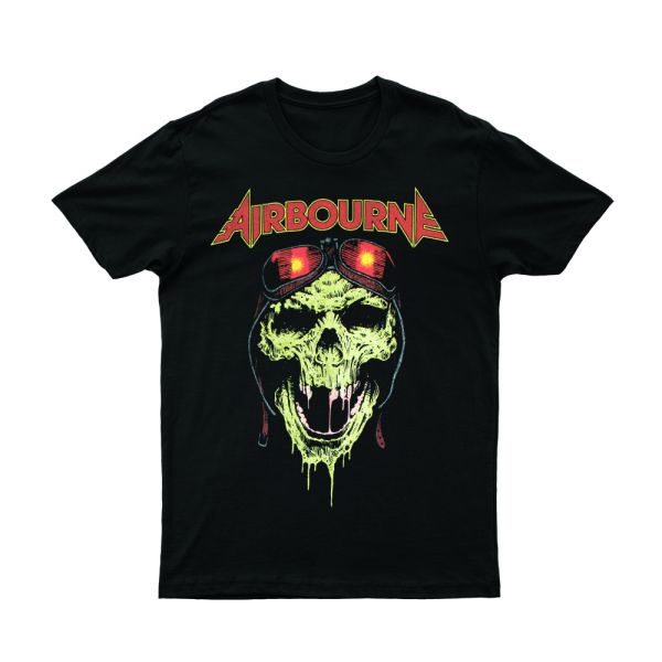 Hell Pilot Glow In The Dark Black Tshirt