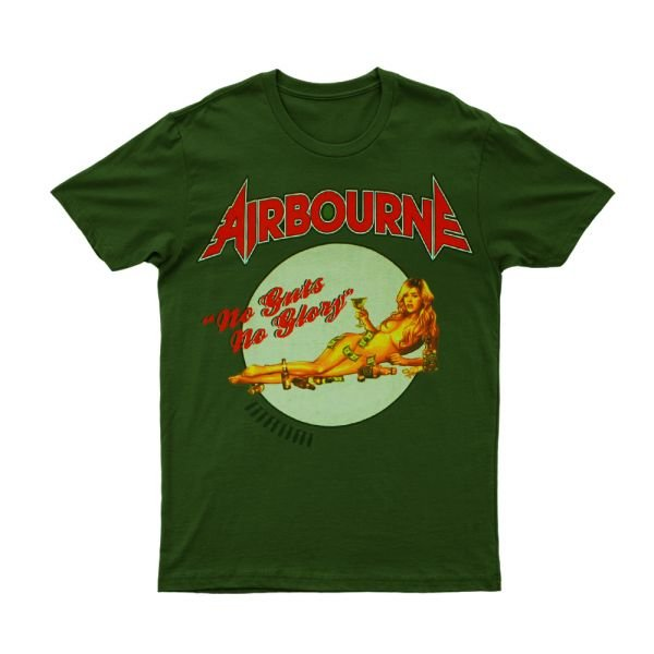 No Guts No Glory Green Tshirt