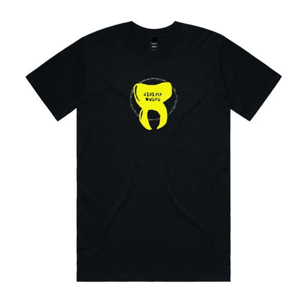 GENESIS OWUSU - Smile Honey Unisex Black Tshirt