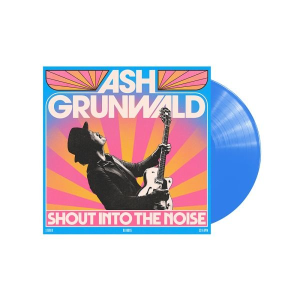 Shout Into The Noise Limited Edition Blue Coloured Vinyl
