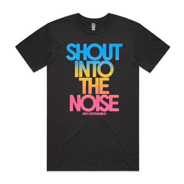 """""""Shout Into The Noise"""" Standard Album Tshirt"""