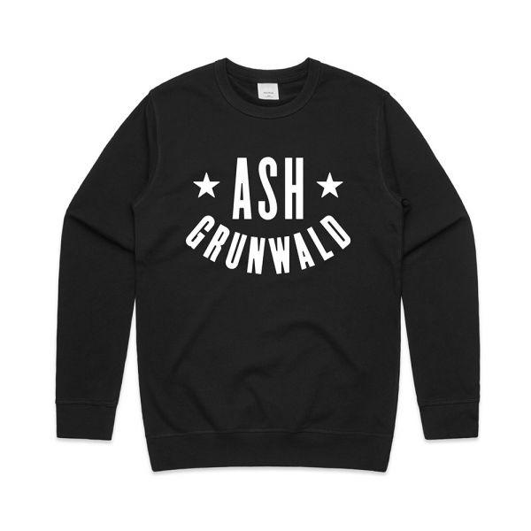 Ash Grunwald Standard Black Crew Neck