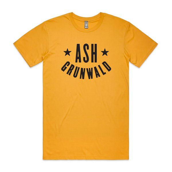 Ash Grunwald Standard T-Shirt - Mustard