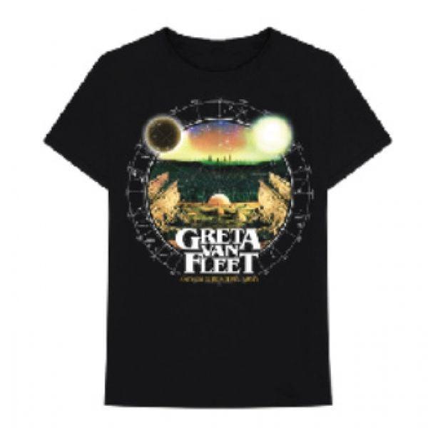 Astronomical Chart Black Tshirt