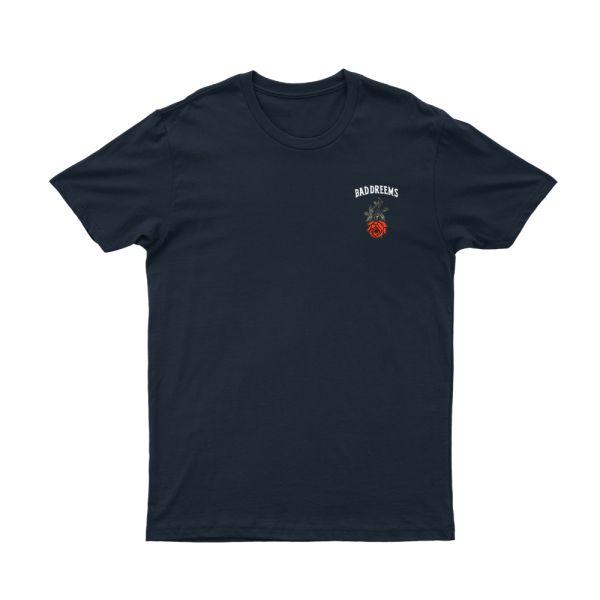 Rose Navy Tshirt