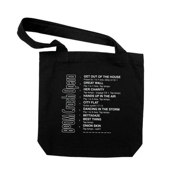 Setlist Tote Bag