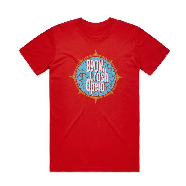 Crazy Times 2020 Red Tshirt w/dateback