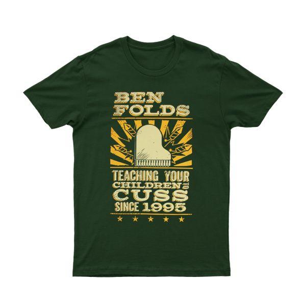 Cuss Dark Green Shirt