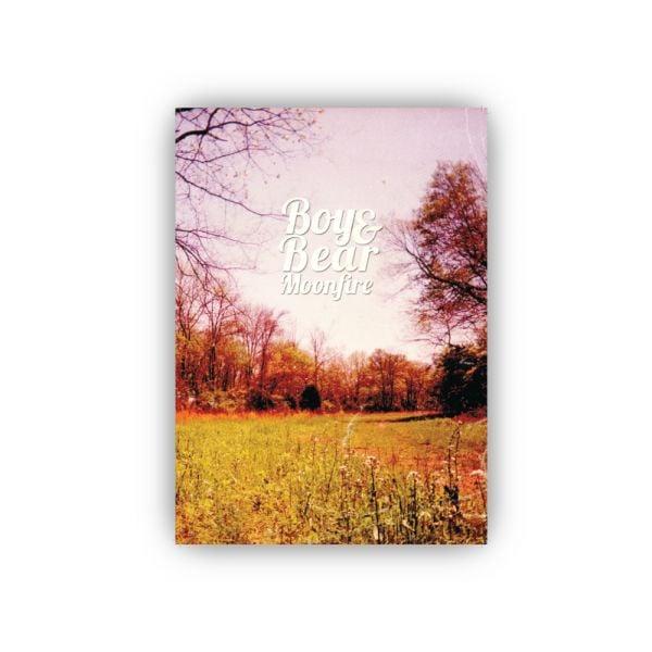 Boy & Bear Moonfire 10 Year Anniversary Poster (NO DATES)