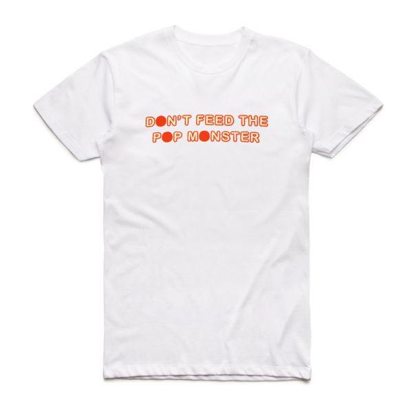 Pop Monster White Tshirt