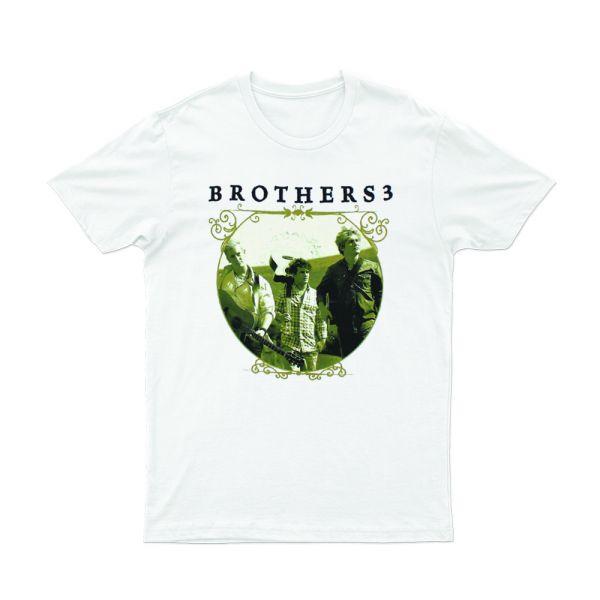 Album Circle White Tshirt