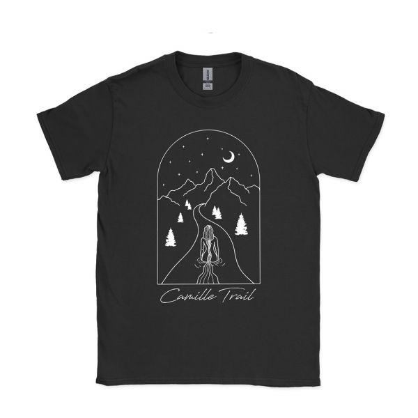 'River of Sins' Black Tshirt