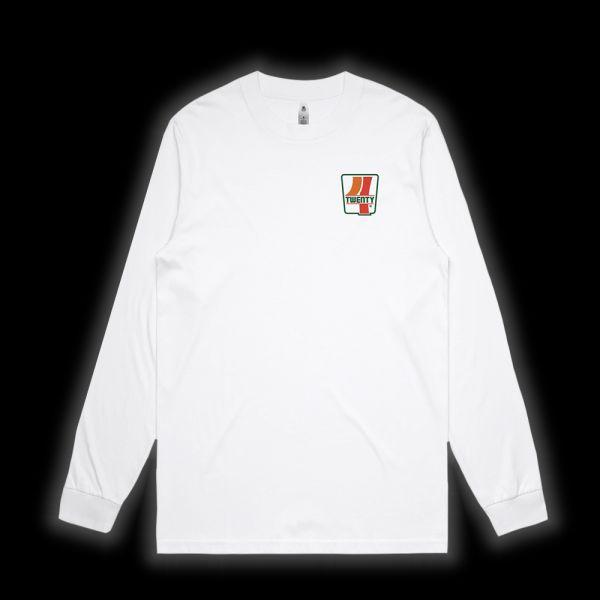 Seven Eleven White Longsleeve Tshirt