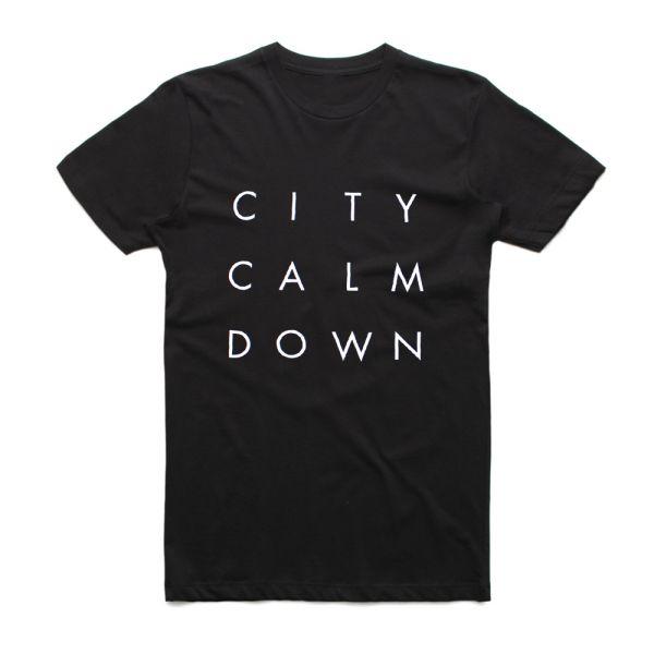Straight Stack Black Tshirt (No Back Print)