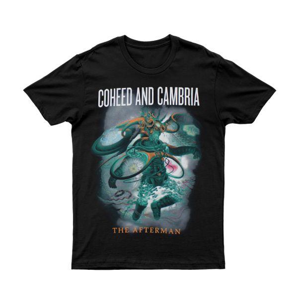 Afterman Black Tshirt Australian Tour 2013