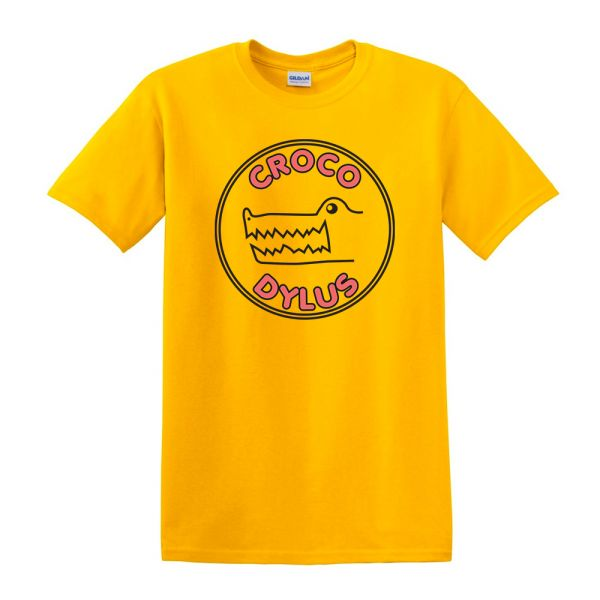 Croc Logo Shirt - Yellow